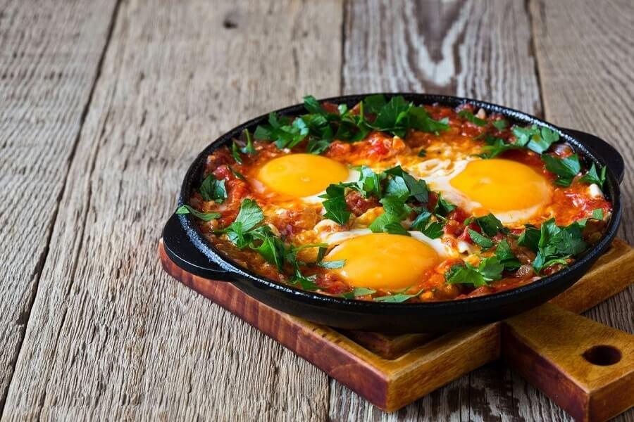 Huevos rancheros, Mexican style eggs